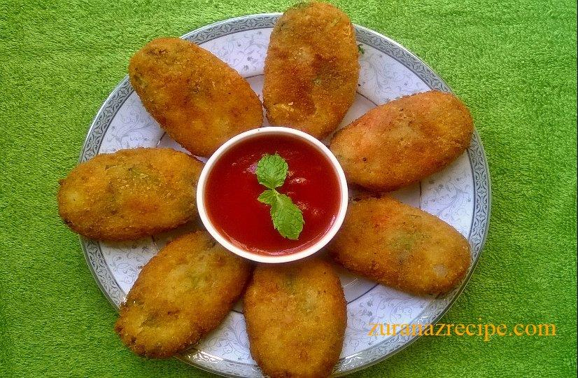 Vegetable Cutlet/Potato cutlet