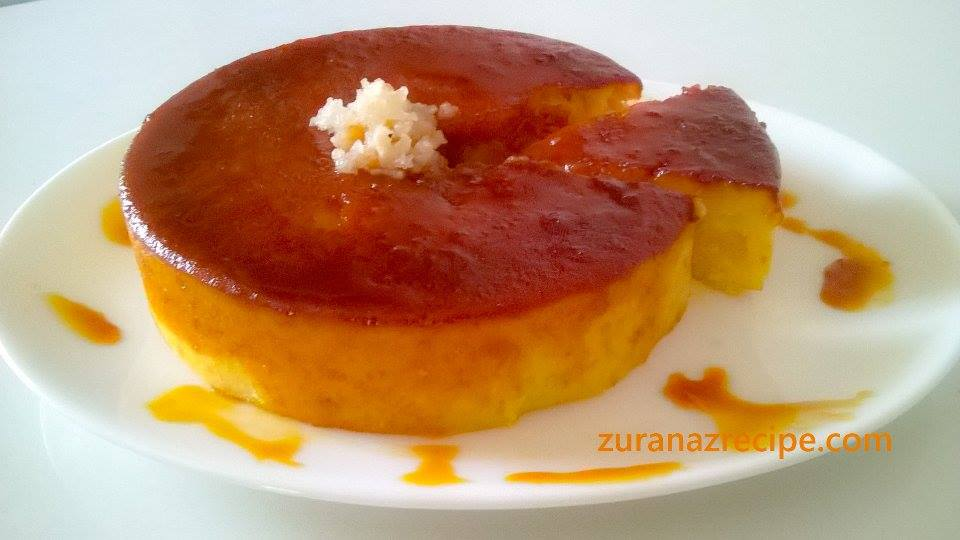 Caramelized Pineapple Custard