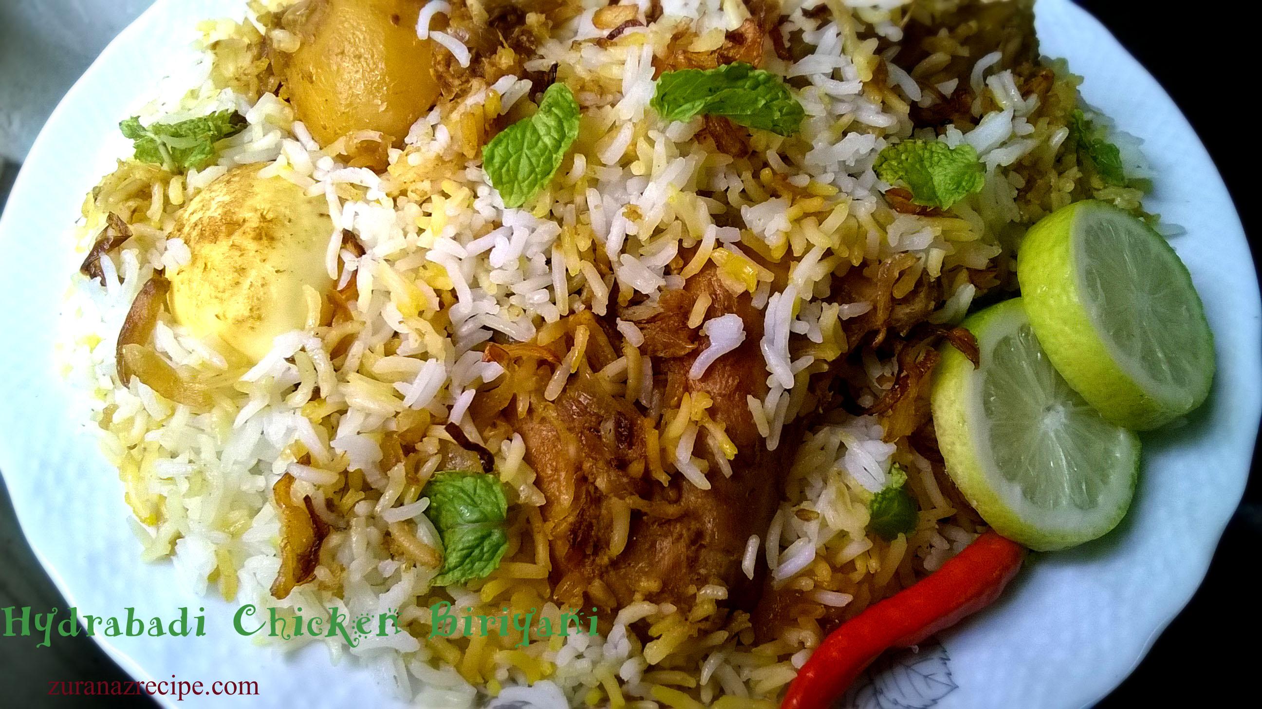 Hydrabadi chicken biriyani bangla bangladeshi bengali food recipes hydrabadi chicken biriyani forumfinder Choice Image