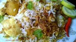 Hydrabadi Chicken Biriyani
