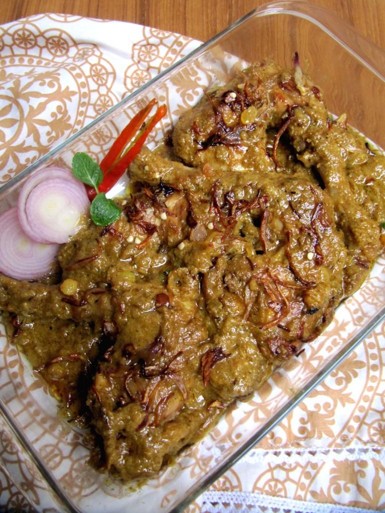 Chicken Roast/Biye Barir Chicken Roast