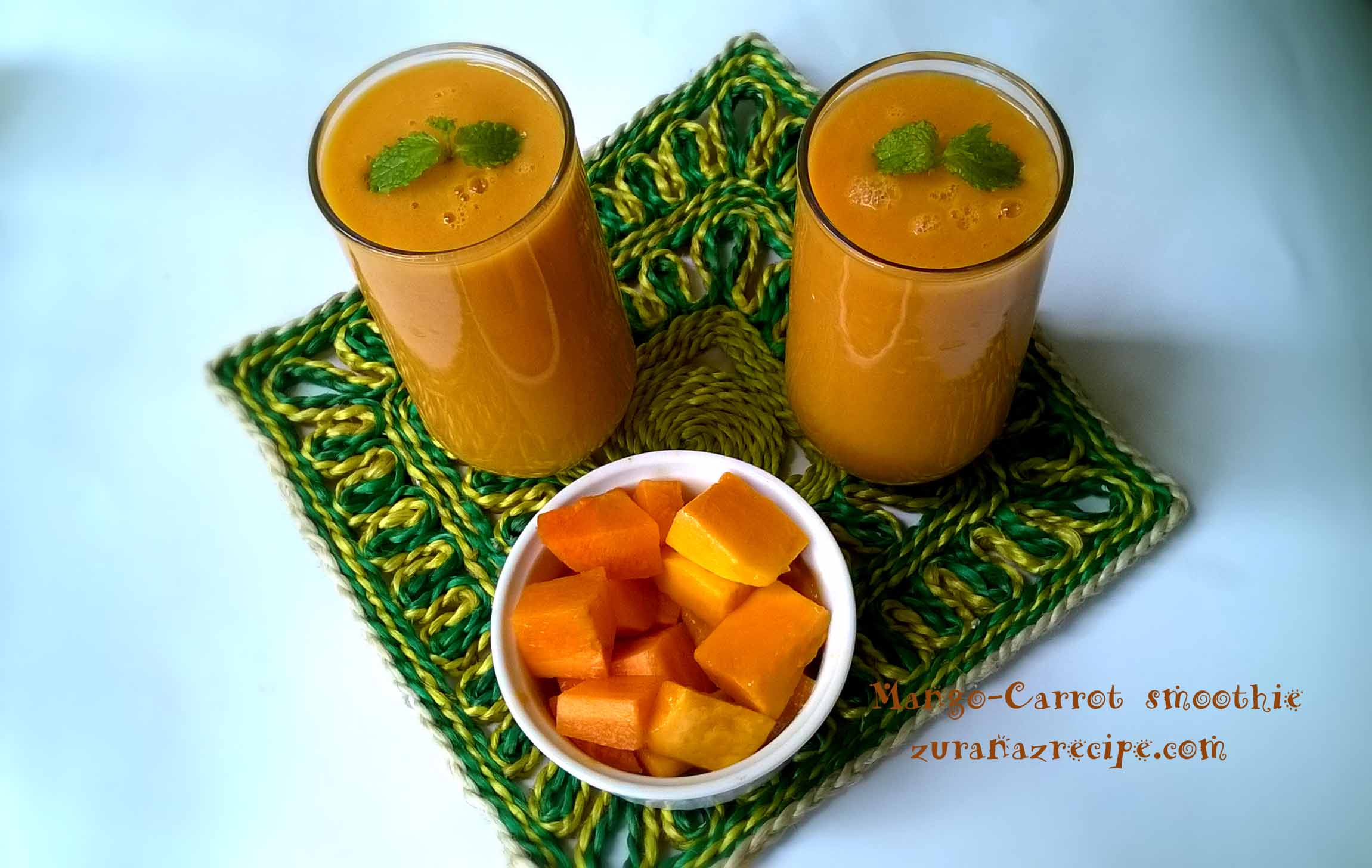 Mango-Carrot smoothie