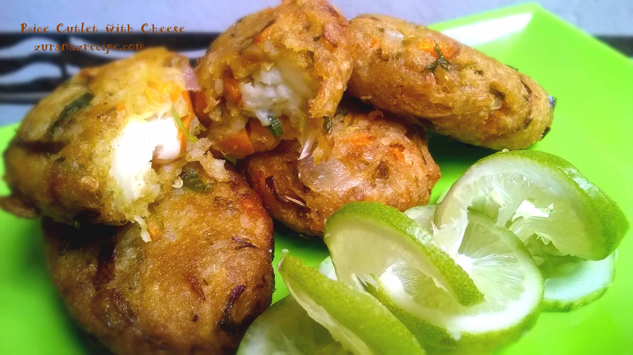 Rice Cutlet with Cheese