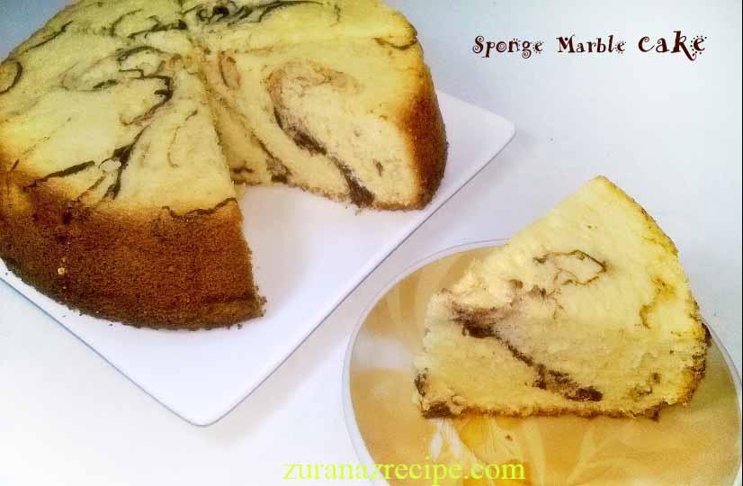 Sponge Marble Cake