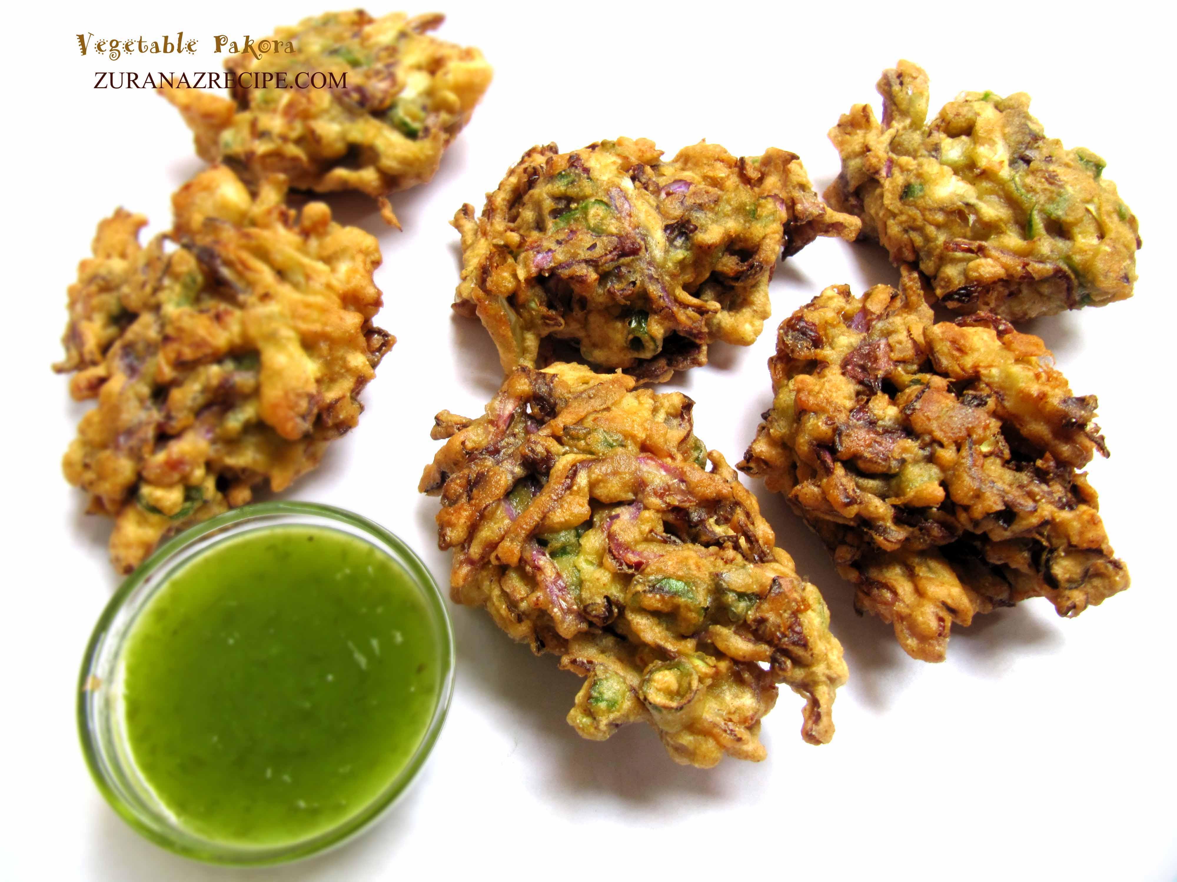 Shobji Pakora/Vegetable Pakora