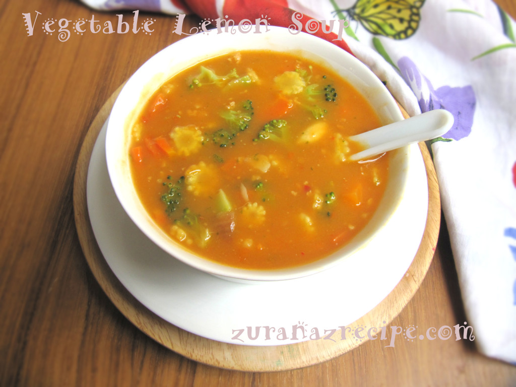 vegetable lemon soup