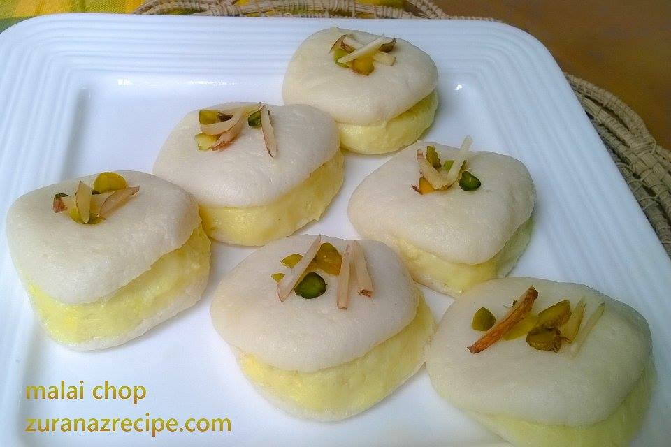 Malai Chop/Malai Sandwich