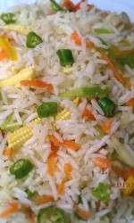 Easy Vegetable Fried Rice Bangla Bangladeshi Bengali Food Recipes