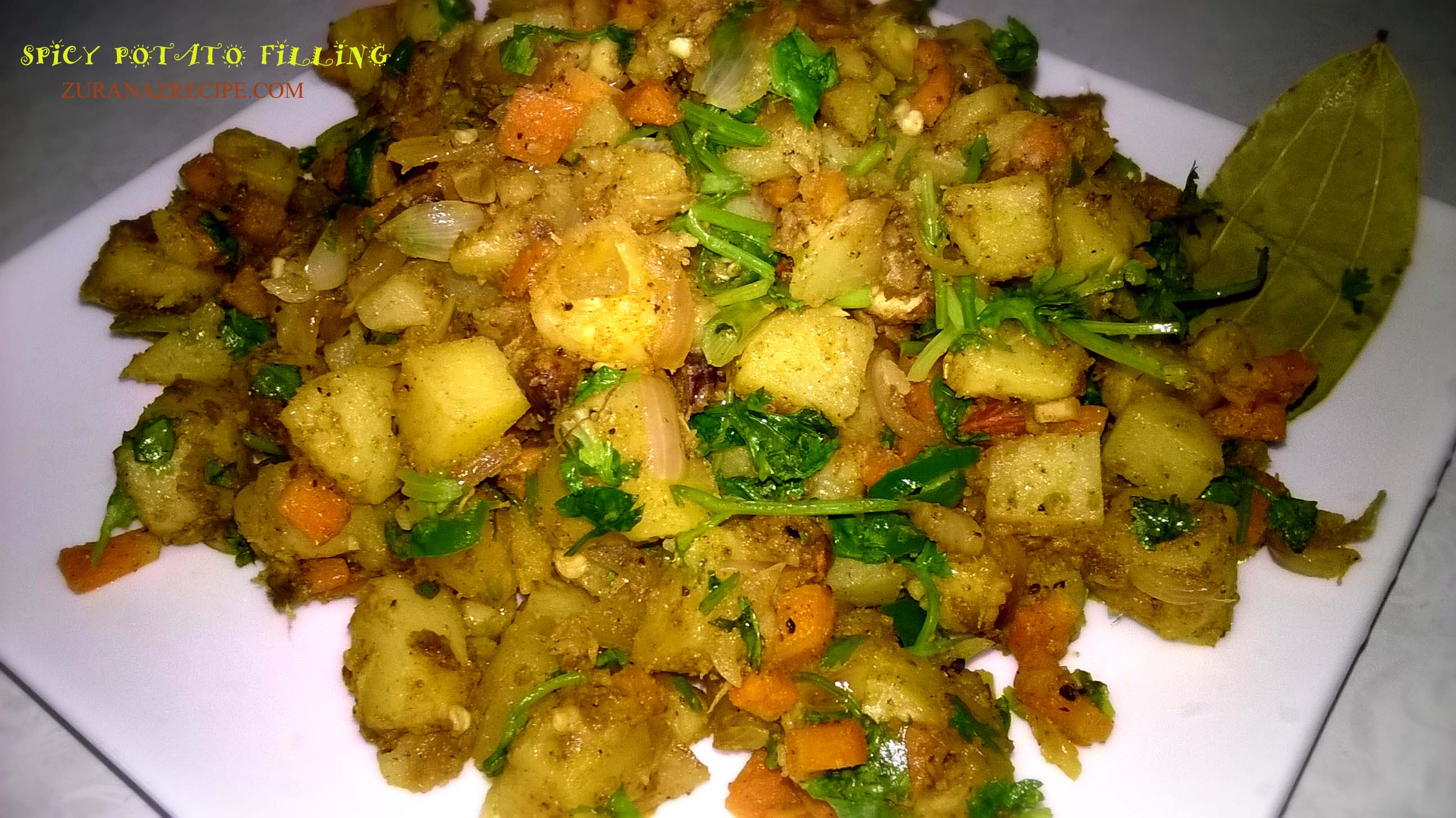 Spicy Potato Filling for Somusa/Singara