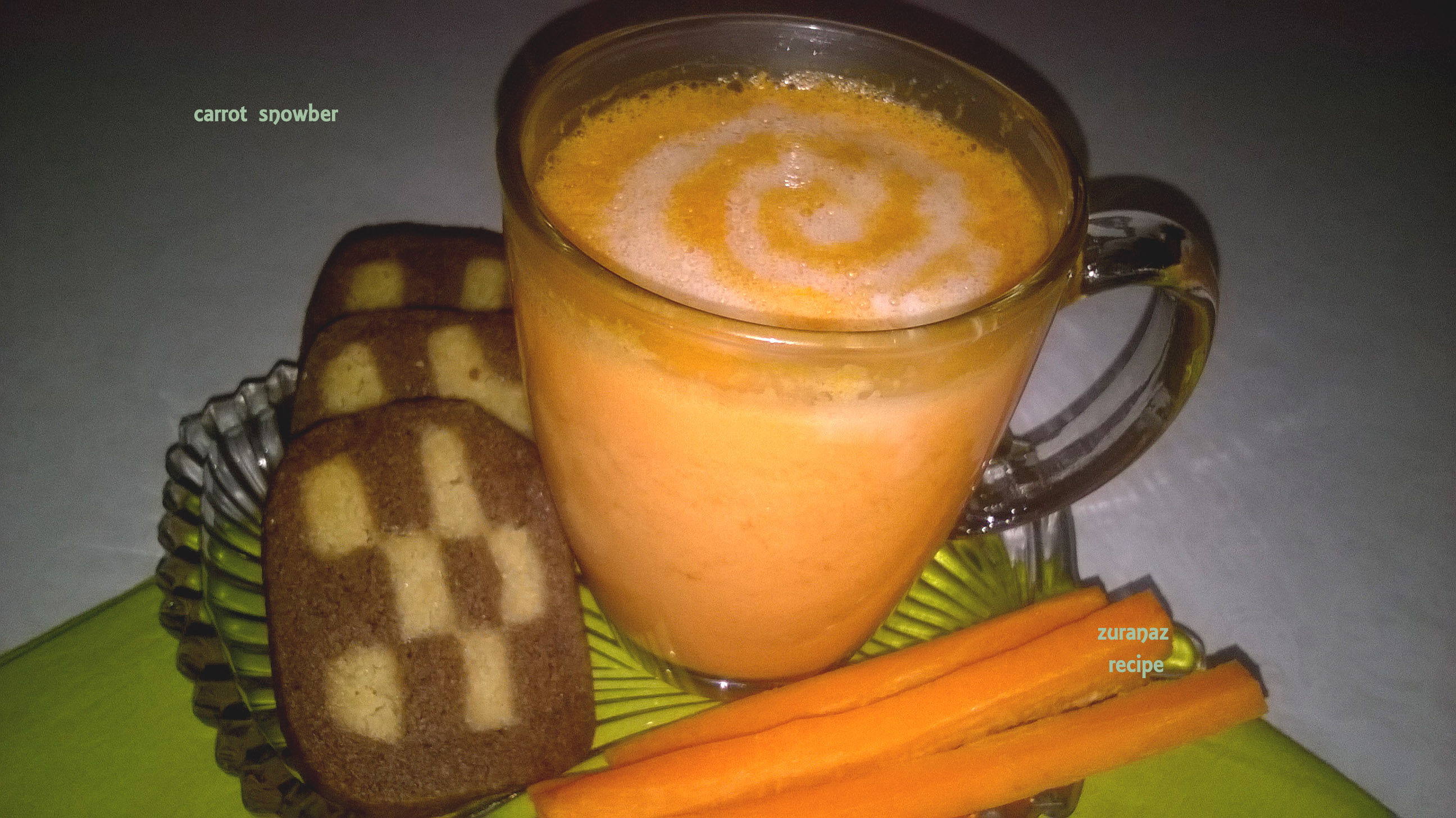 carrot smoothy|| gajorer shorbot