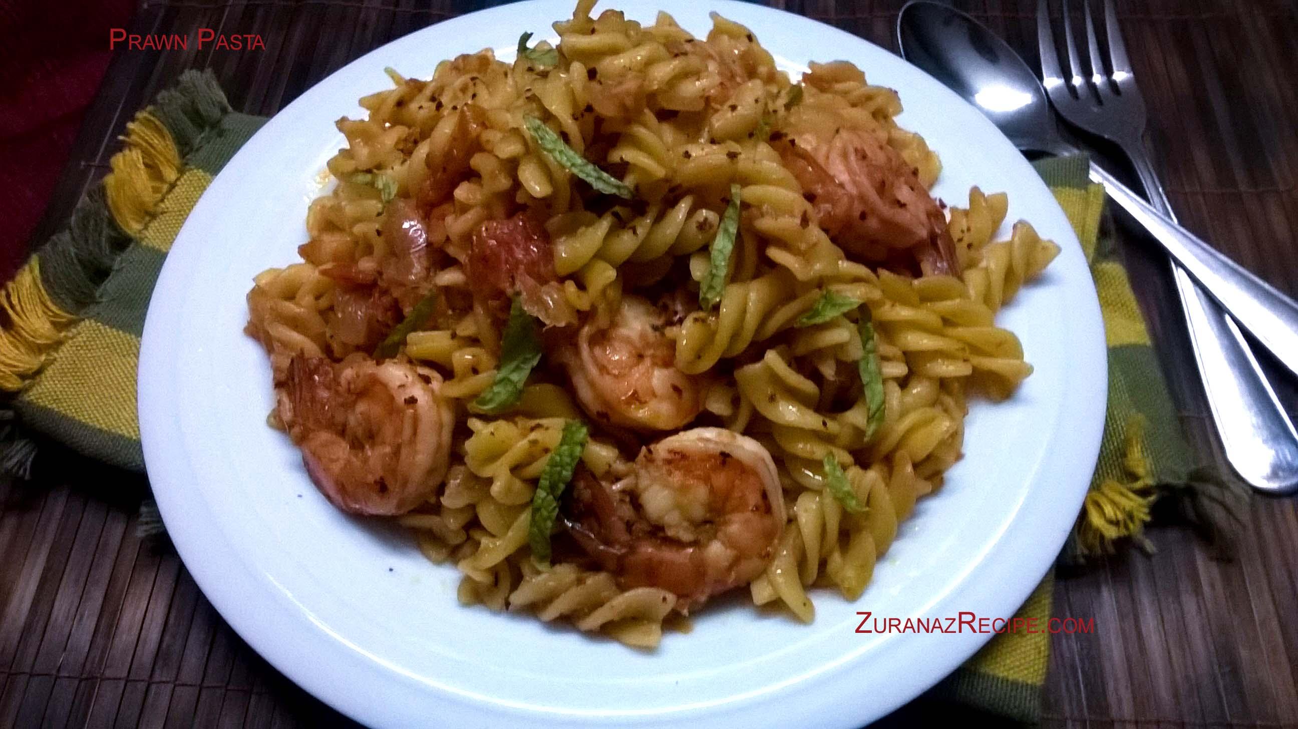 Italian Prawn Pasta