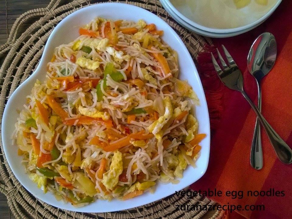 Vegetable Egg Noodles