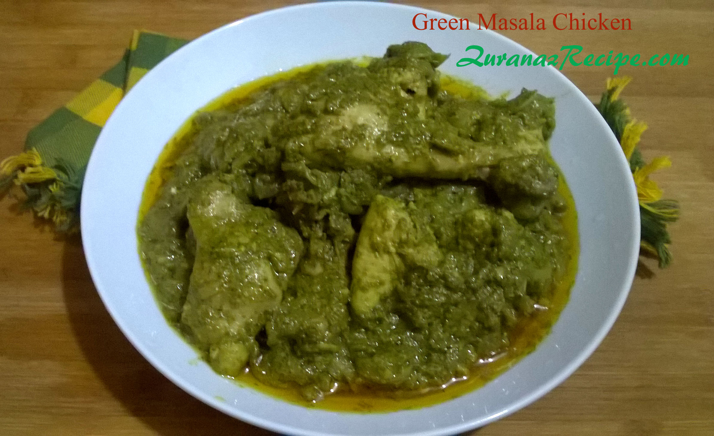 Green Masala Chicken