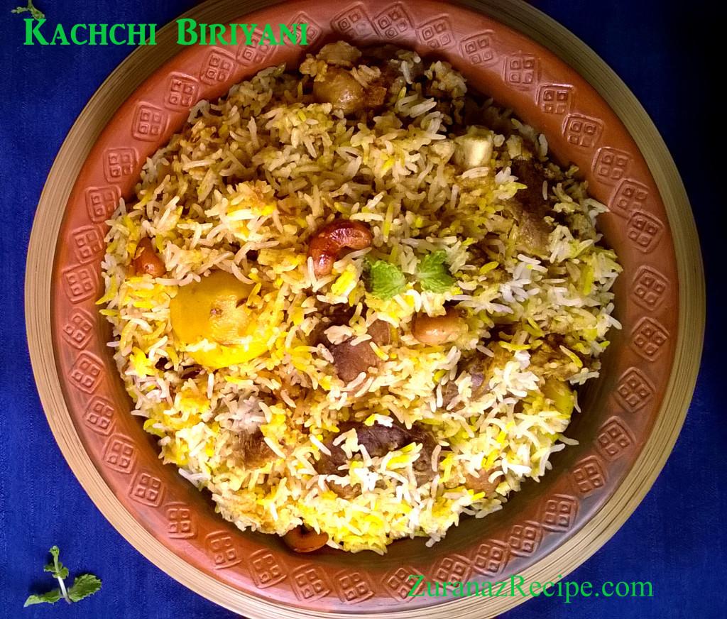 Kachchi Biriyani
