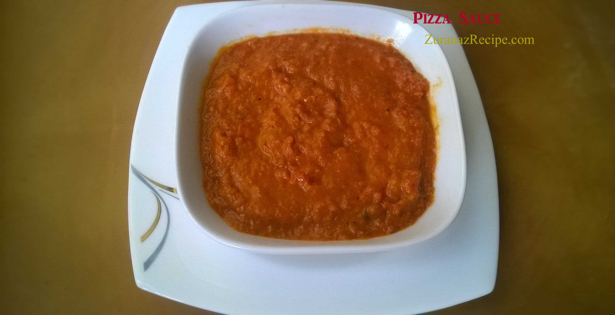 How To Make Pizza Sauce/Easy Homemade Pizza Sauce