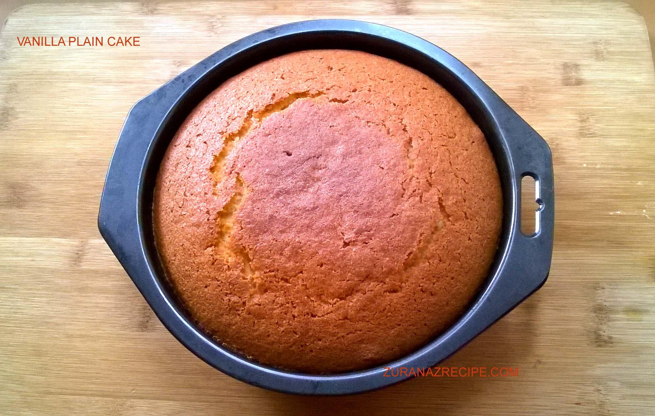 Vanilla Plain Cake