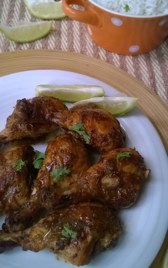 Grilled Lemon-Oregano Chicken Drumsticks | Bangla, Bangladeshi ...