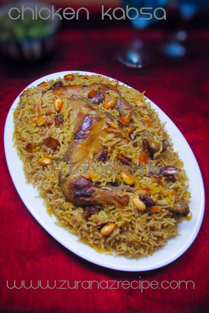Chicken Kabsa Arabian Biriyani Discover Modern Selected Recipes