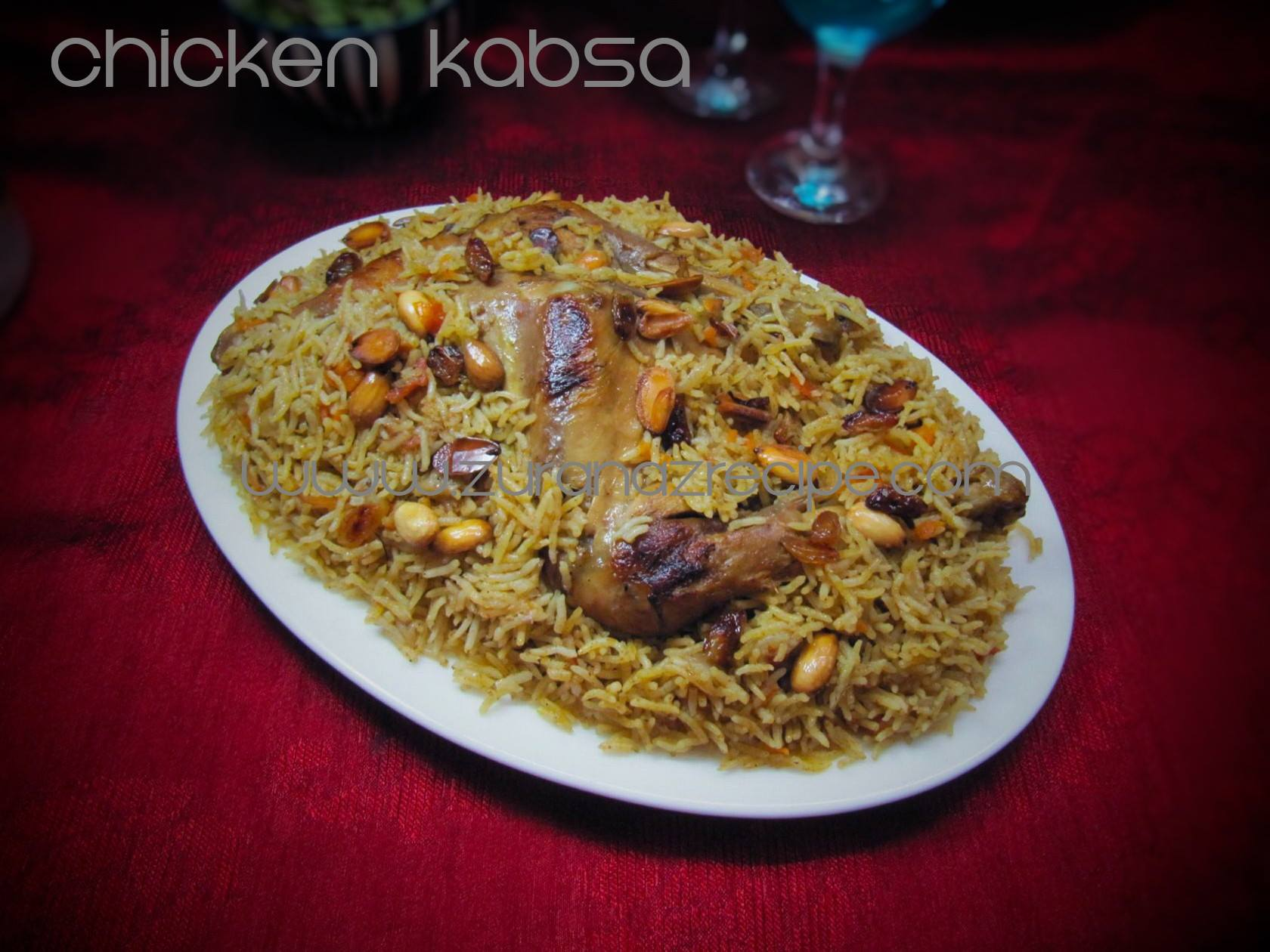 Chicken Kabsa(Arabian Biriyani)