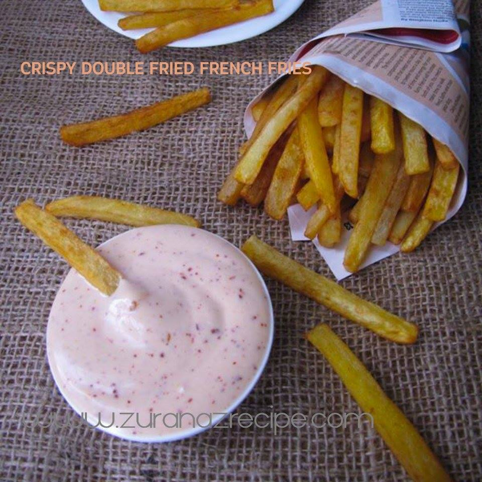 Crispy Double-Fried French Fries