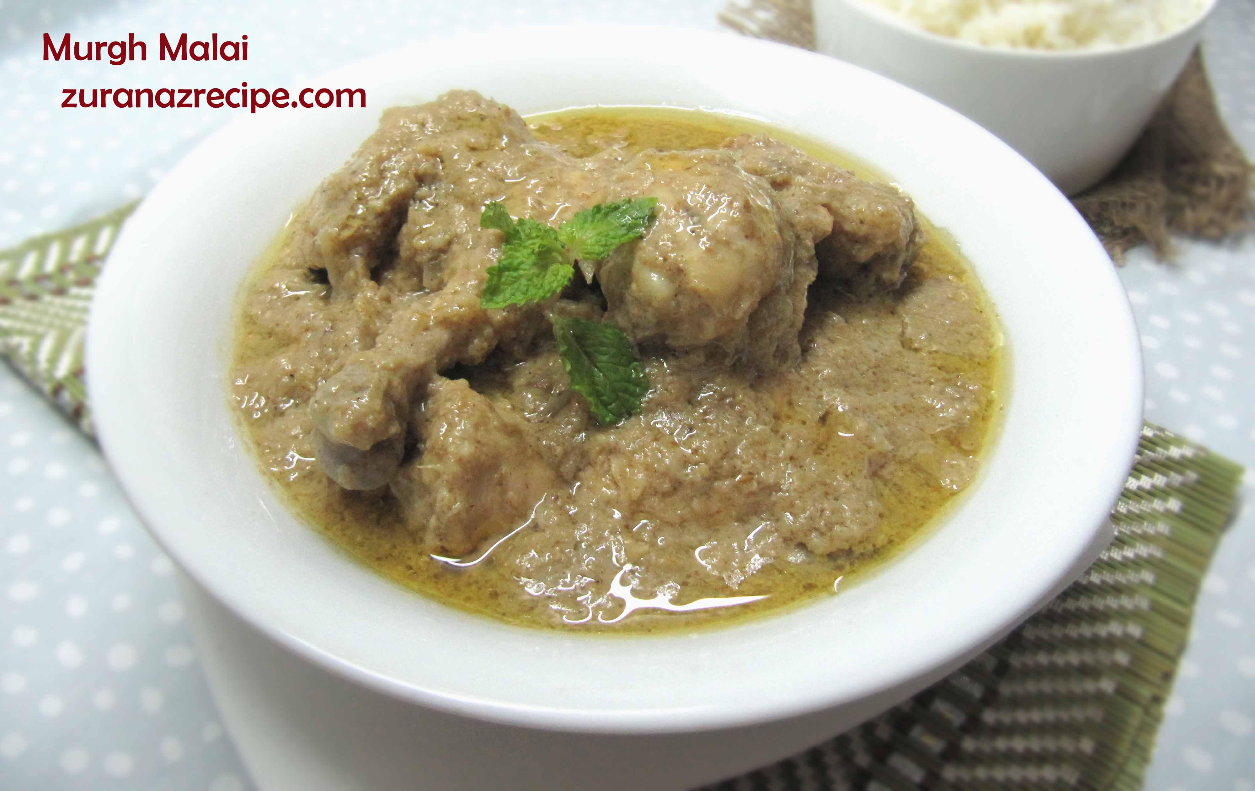Malai Chicken (Murgh Malai)