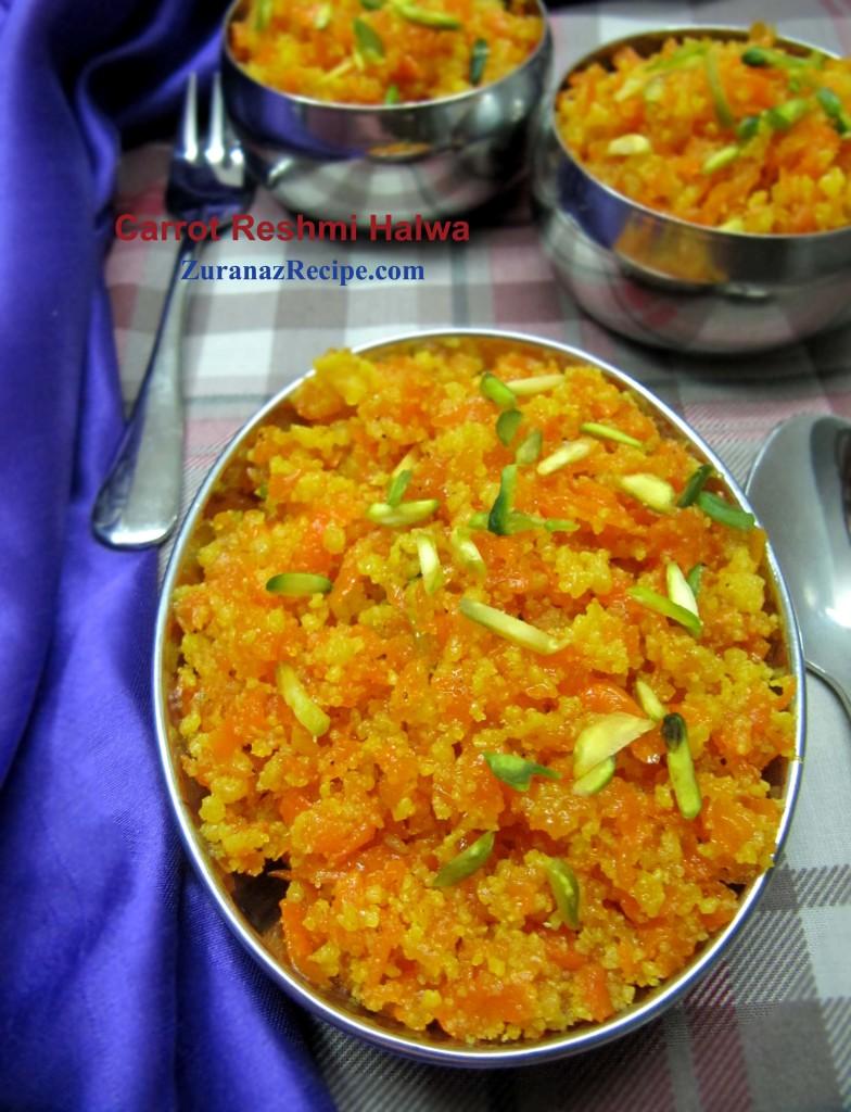 Carrot Reshmi Halwa