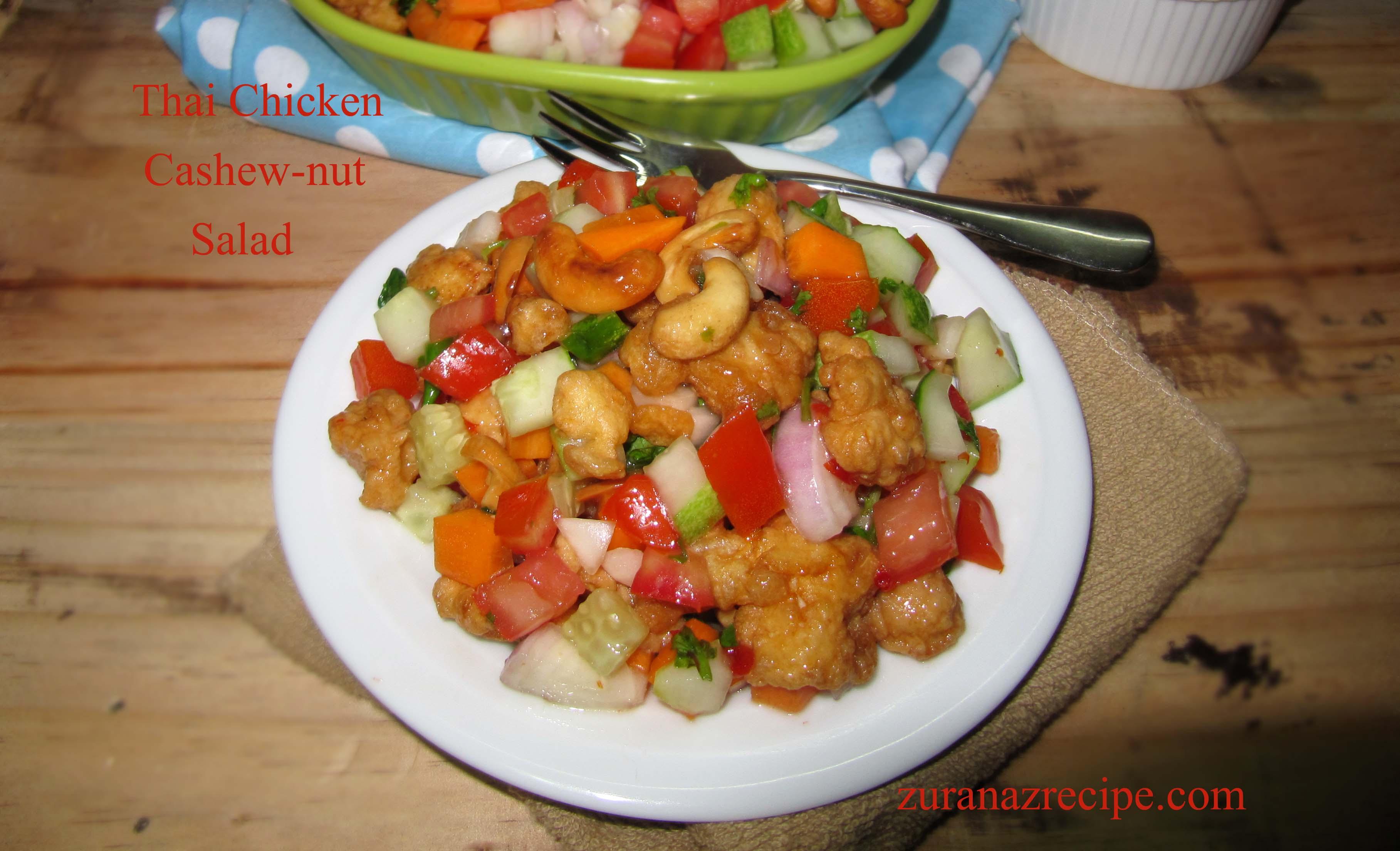 Thai Chicken Cashew Nut Salad
