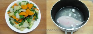 Chinese Mixed Vegetables/