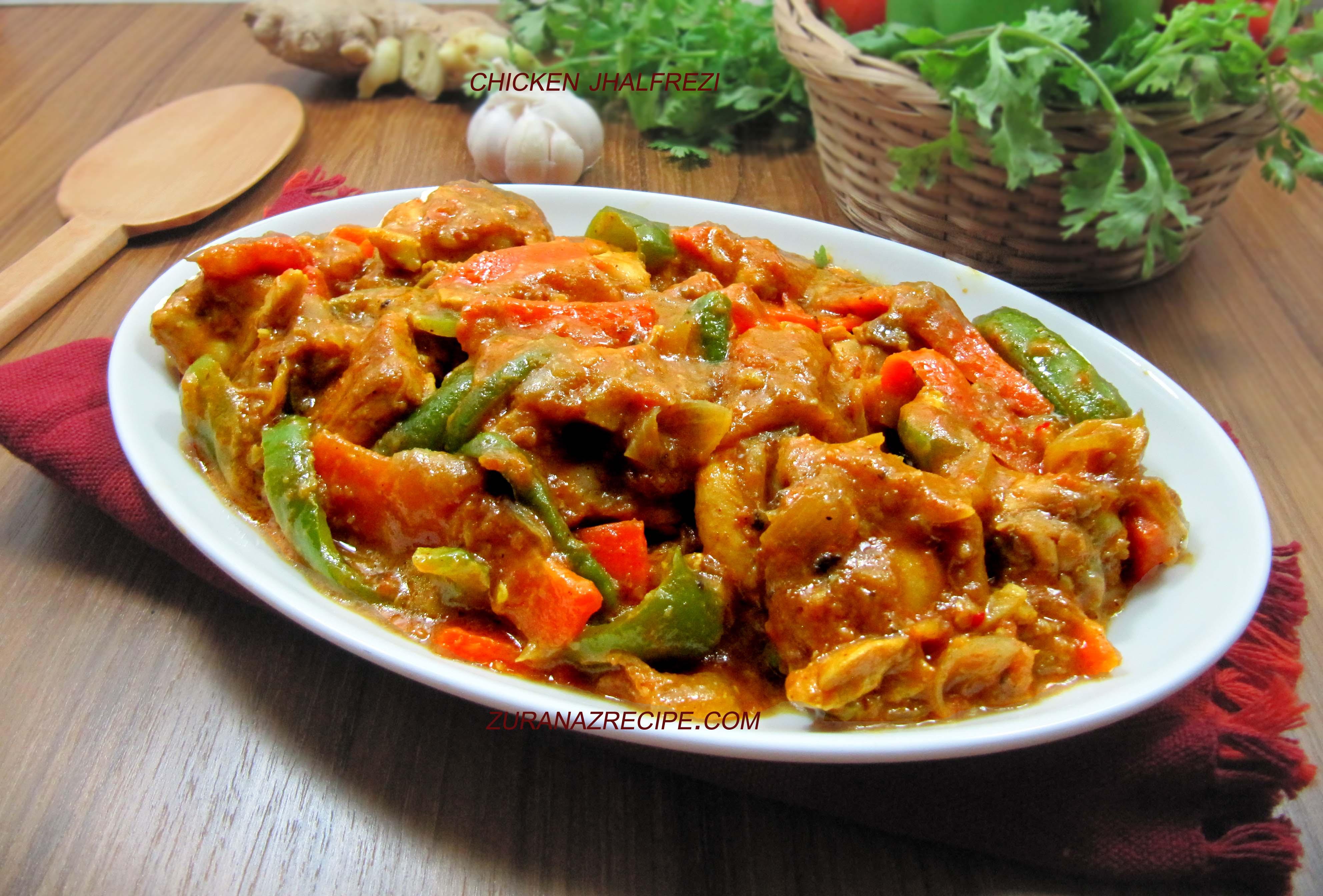 Chicken Jhalfrezi/Bangladeshi Jhalfrezi