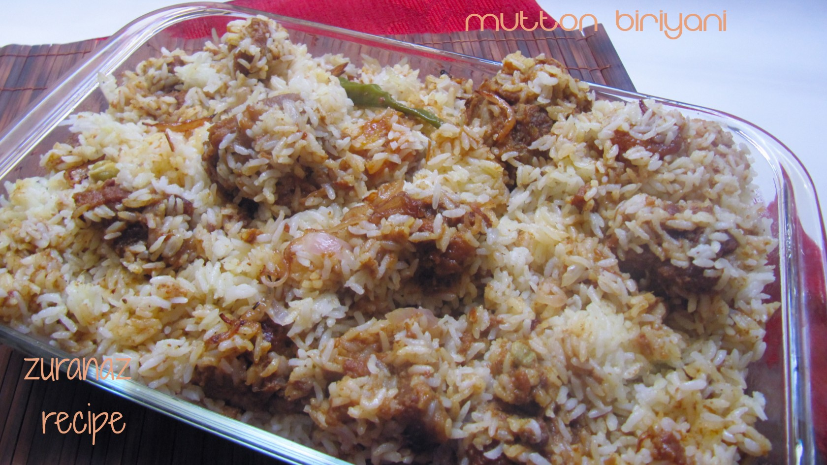 Khashir Biriyani/Mutton Biriyani