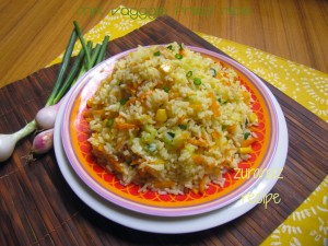 Mix Vegetable Chinese Fried Rice