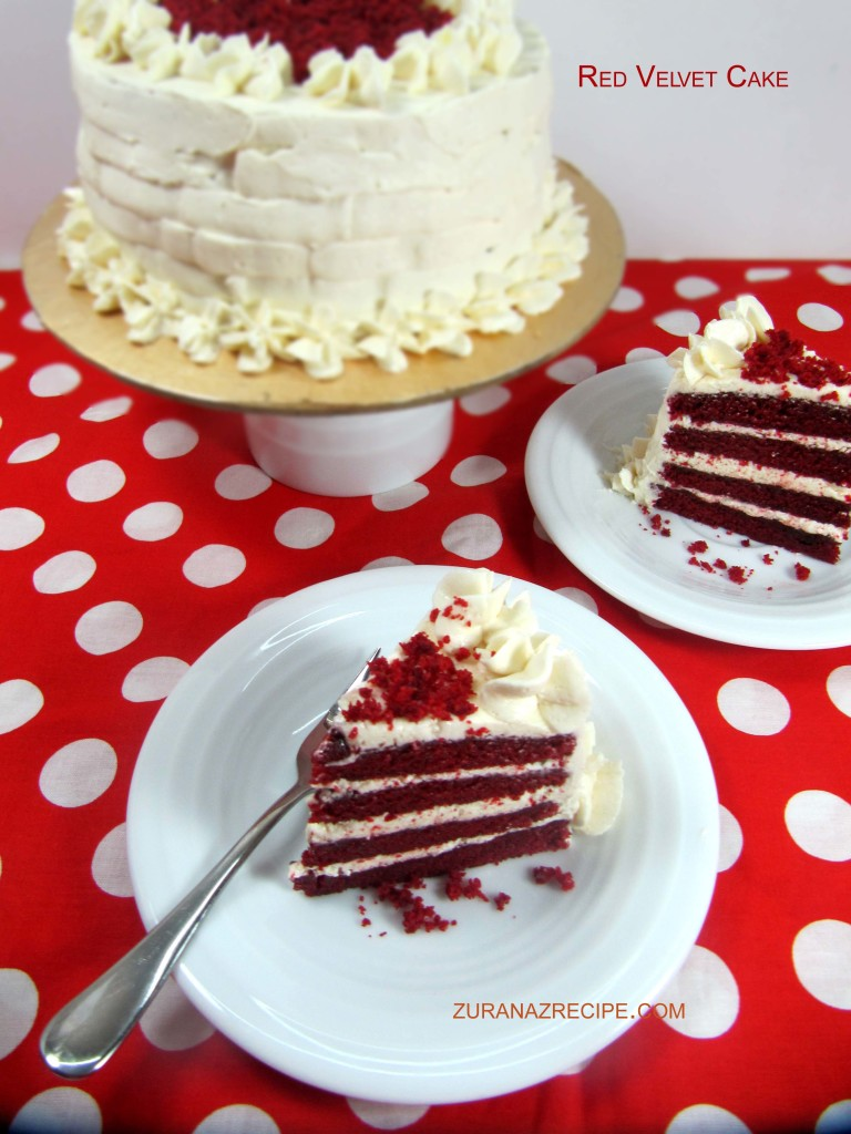 Red velvet cake easy moist homemade red velvet cake for Easy red velvet cake recipe uk