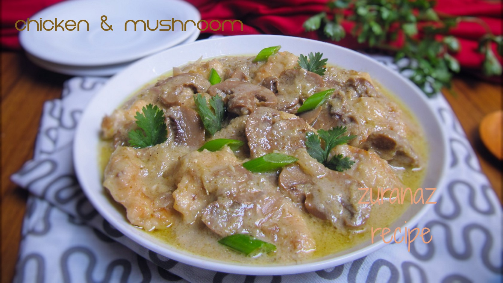 Chicken mushroom curry bangla bangladeshi bengali food recipes chicken mushroom curry forumfinder Choice Image