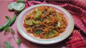 Kacha Tomato Diye Shutki Vuna