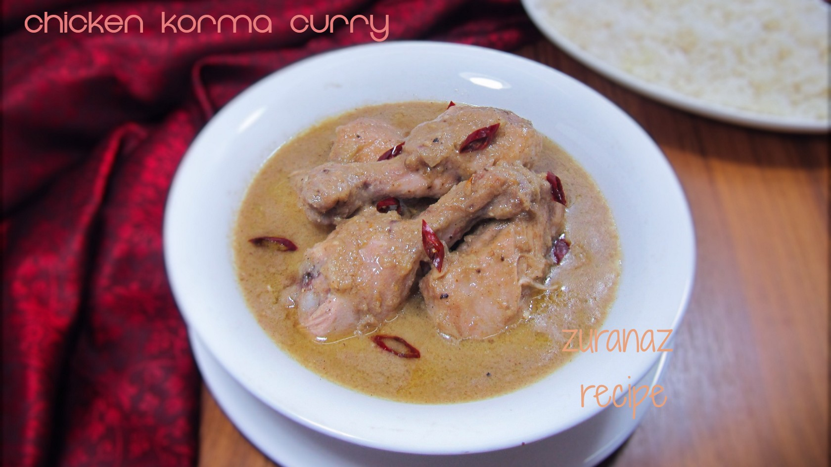 Chicken Korma Curry/Chicken White Curry