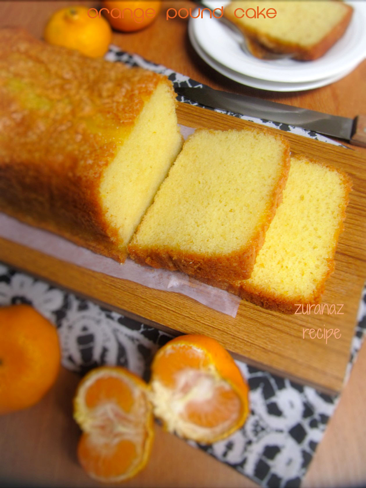 Orange Pound Cake/Basic Orange Cake