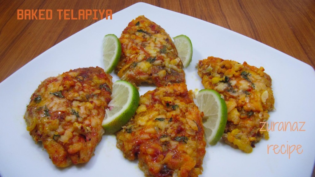 Baked Telapia Fillets