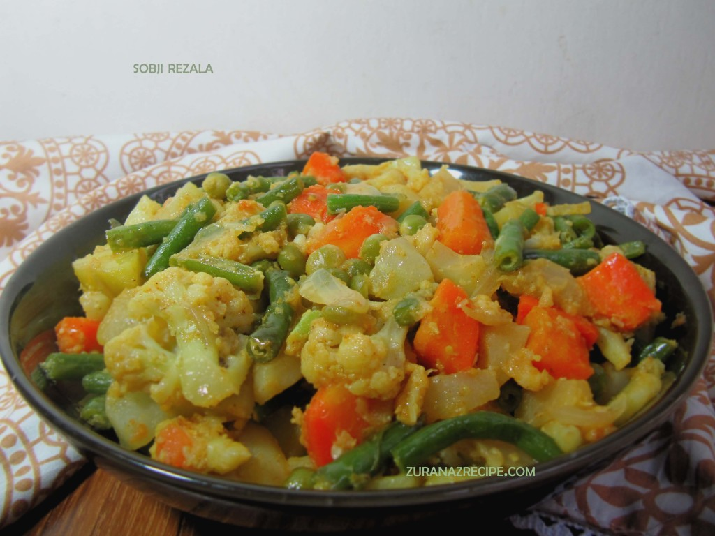 Vegetable Rezala