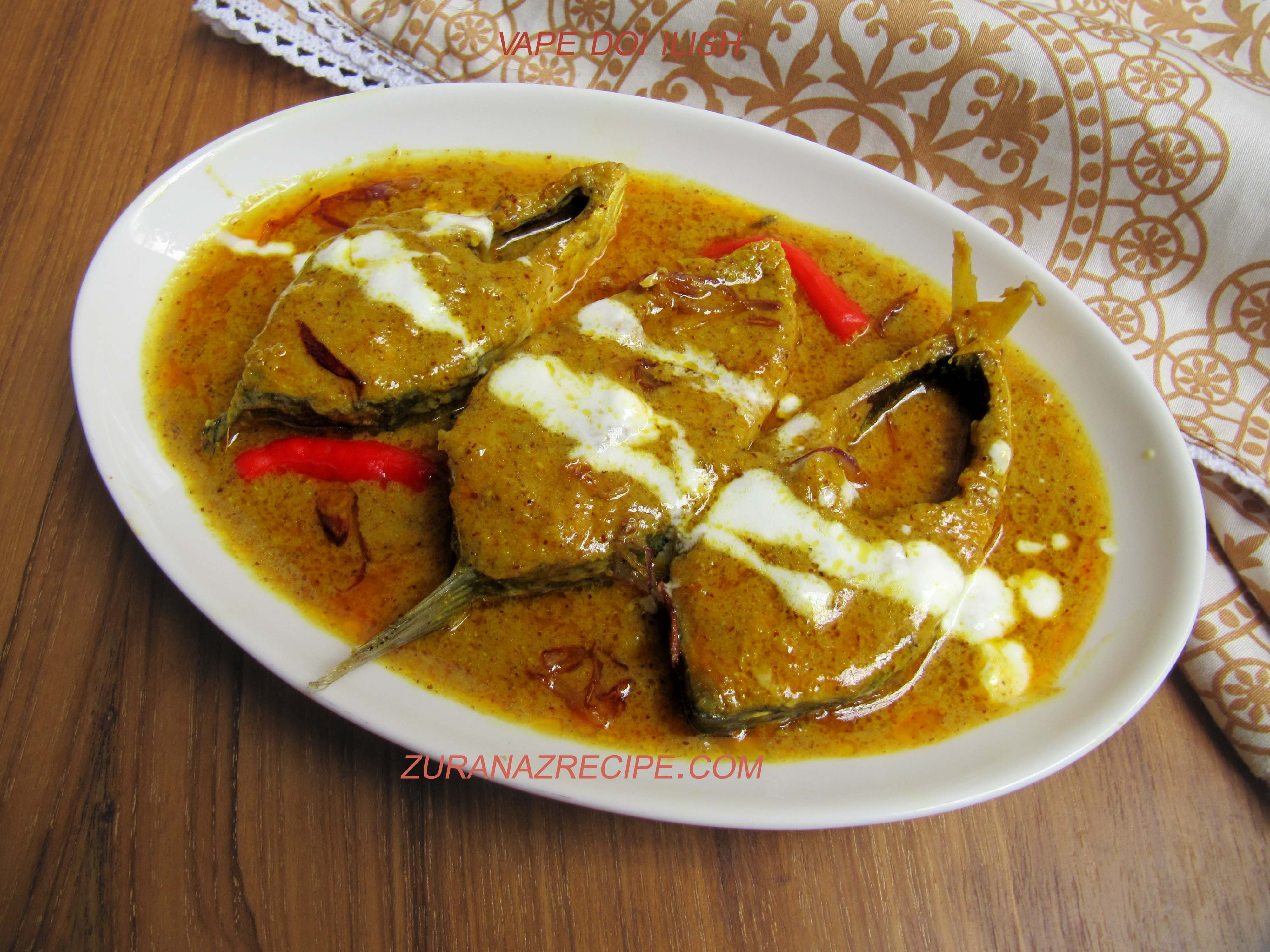 Bhape Doi Ilish