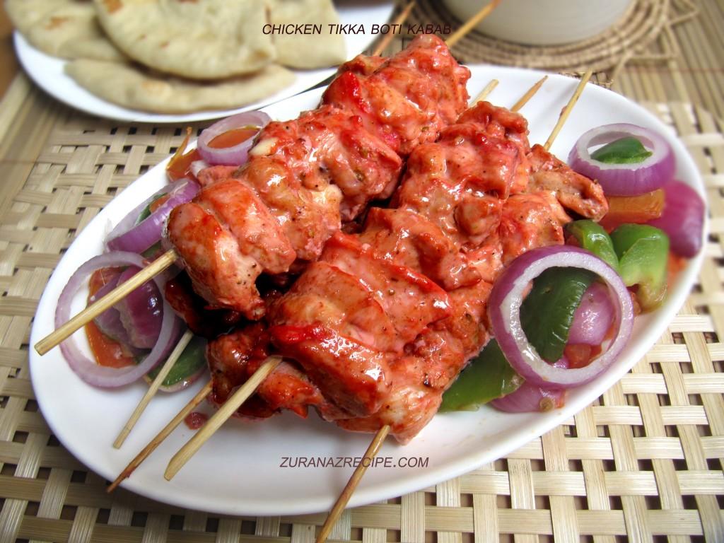 Chicken Tikka Boti Kabab