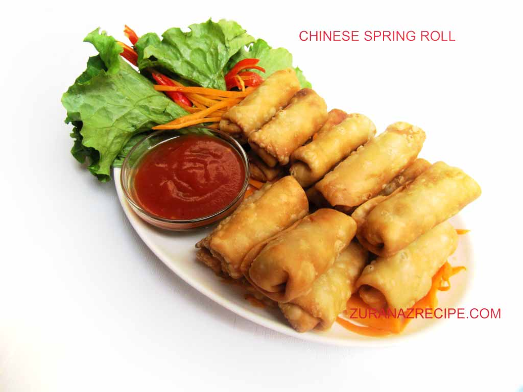 what is in a chinese spring roll