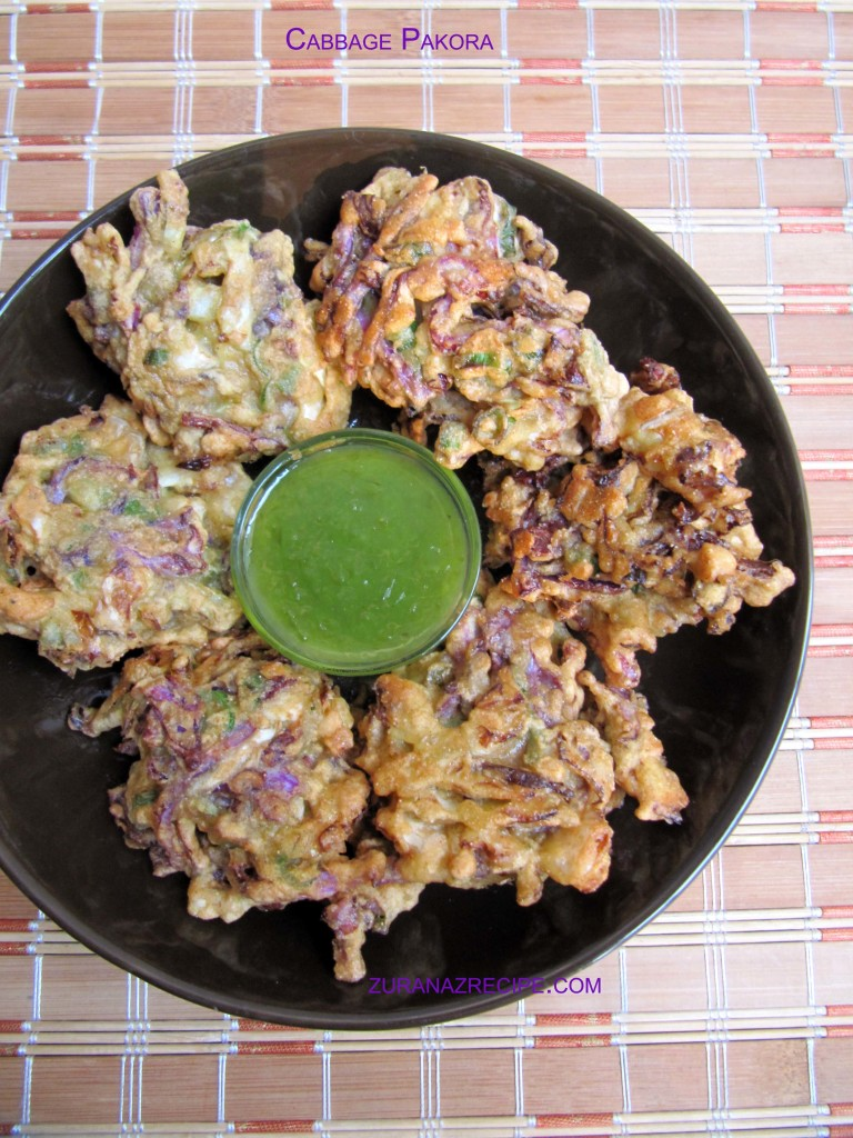 Cabbage Pakora/