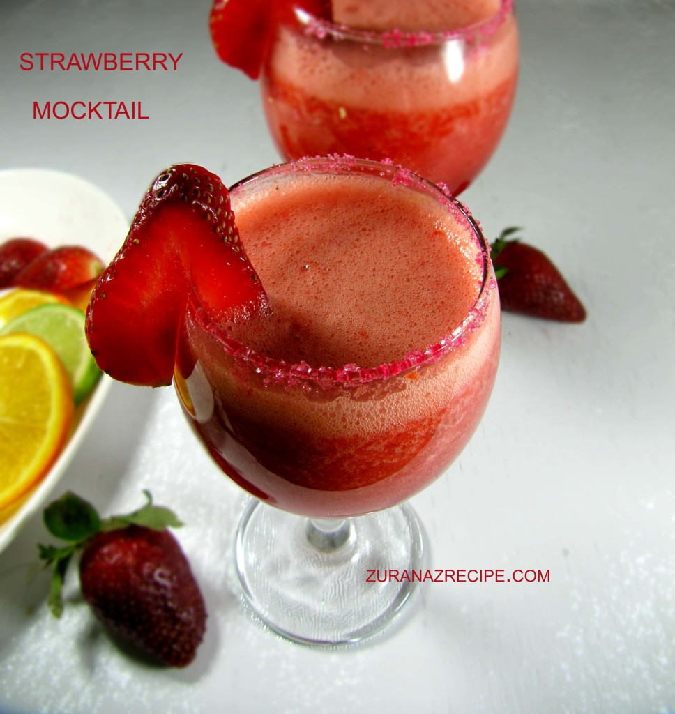 Strawberry Mocktail....