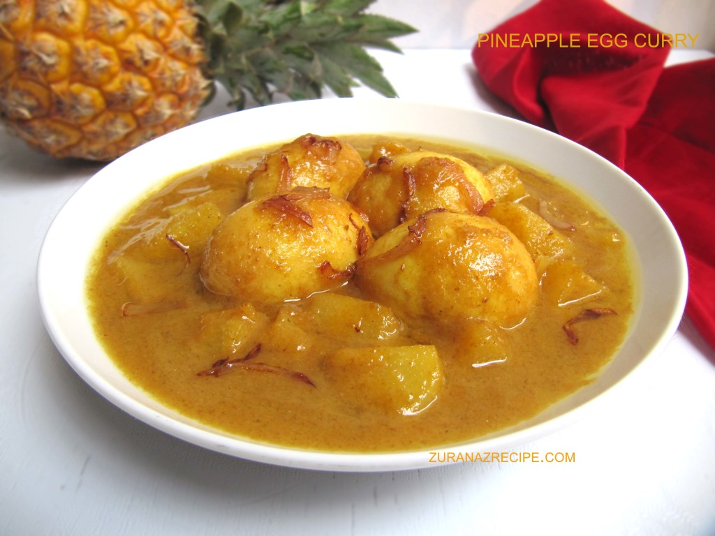 Pineapple Egg Curry
