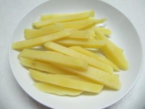 Baked Potato Strips