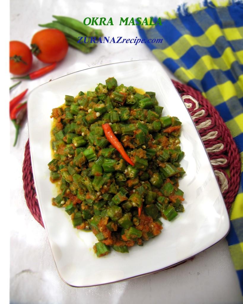 OKRA-MASALA-Bangladeshi Recipe.....