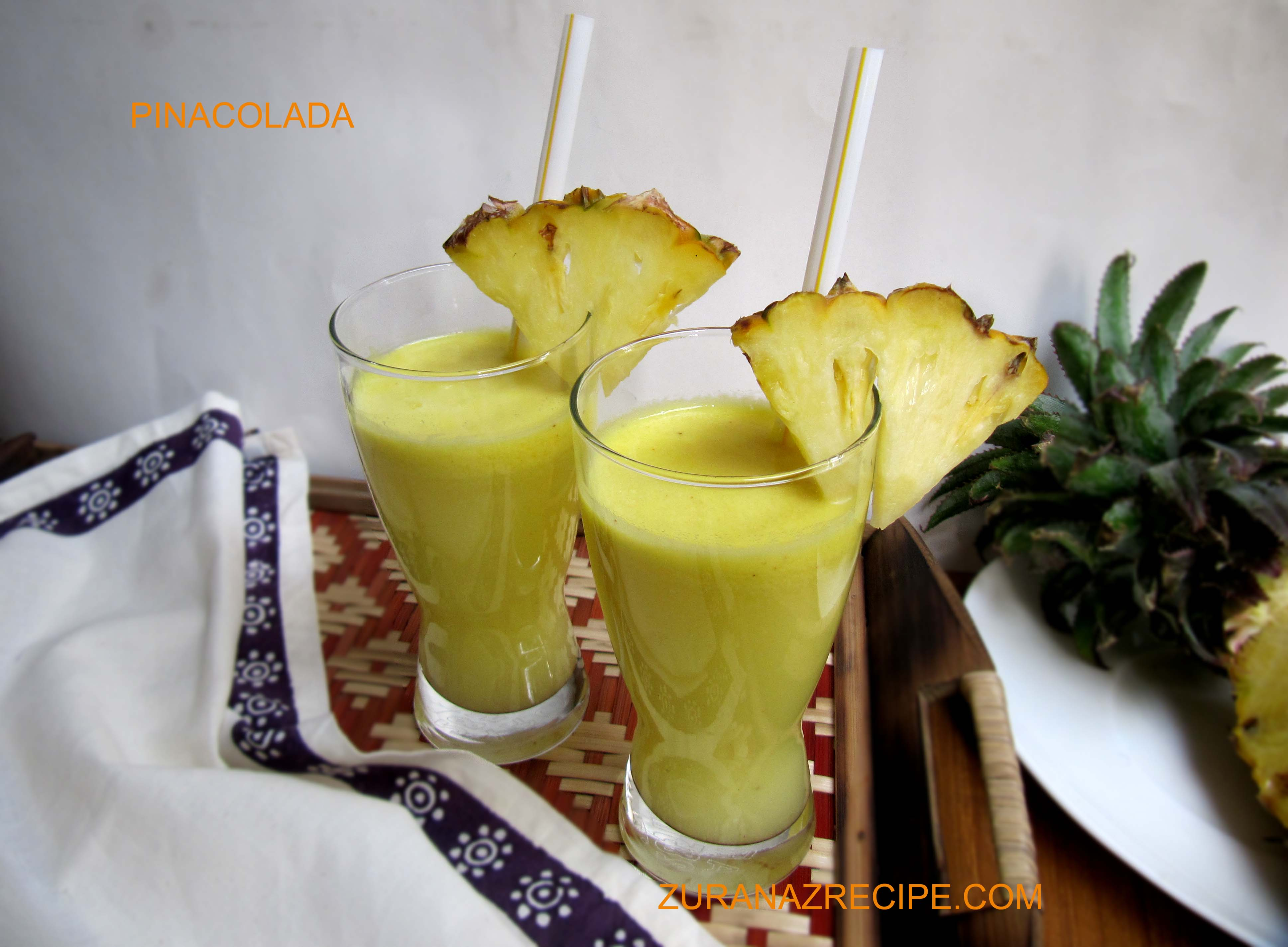 Pinacolada (Pinapple & Coconut Milk Drinks)