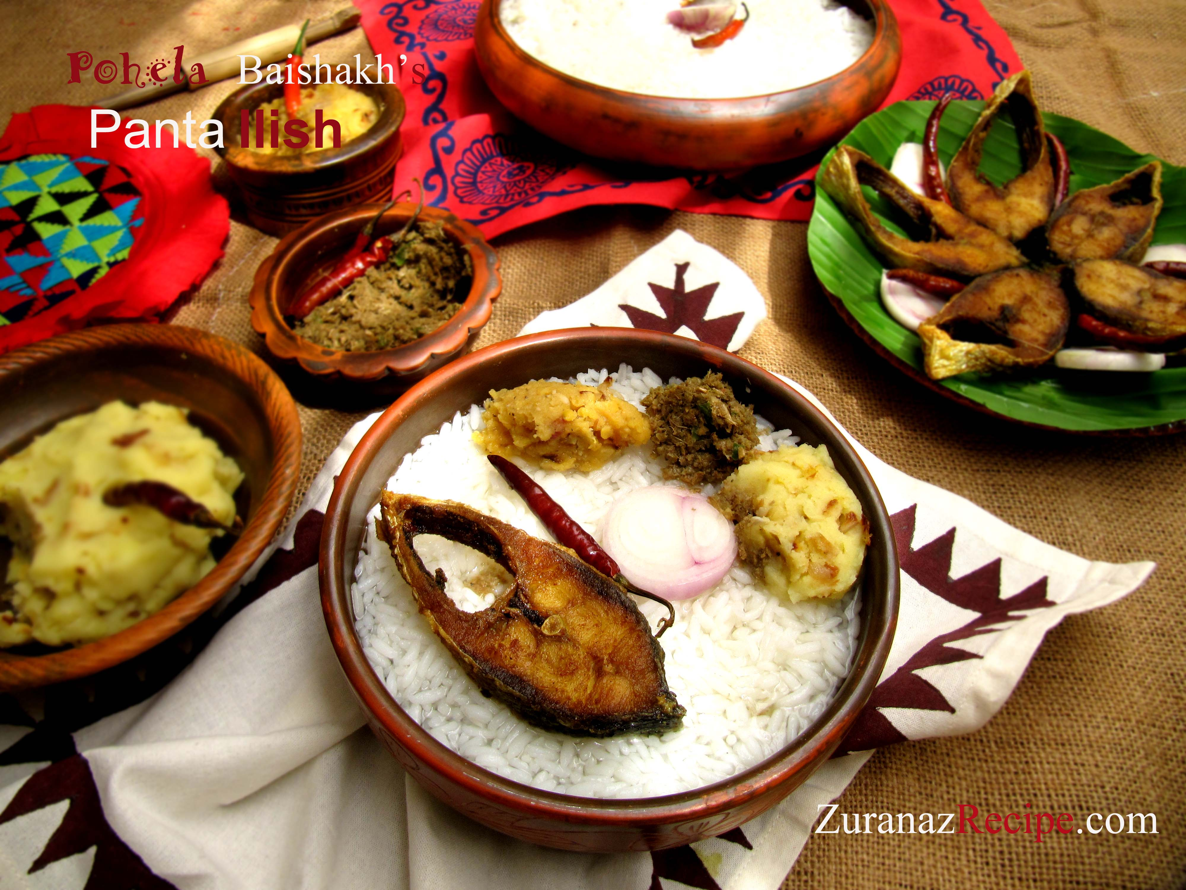 Ilish recipes bangla bangladeshi bengali food recipes bangladeshi noboborsho feast panta bhat ilish maach forumfinder Image collections