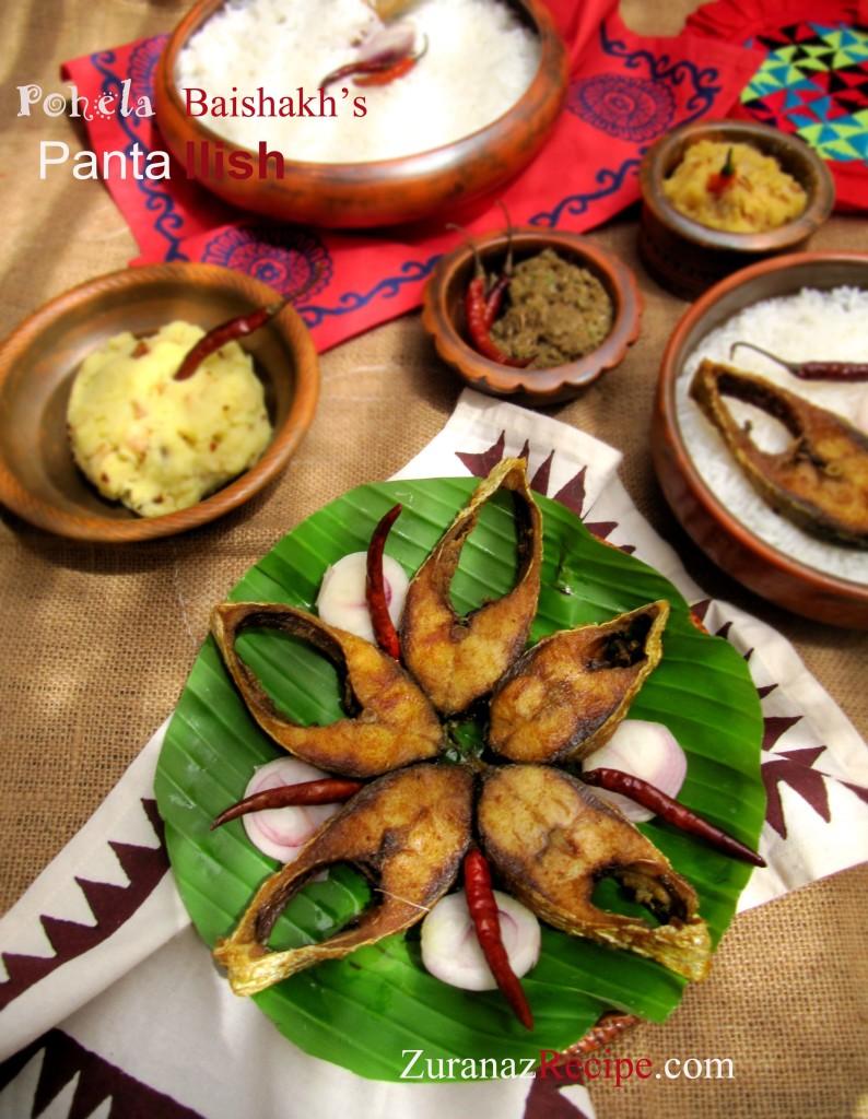 Panta Bhat, Ilish Mach