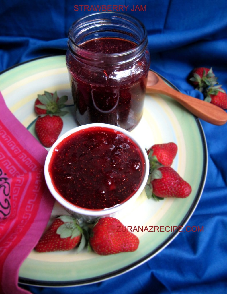 STRAWBERRY JAM-ZURANAZRECIPE.COM..